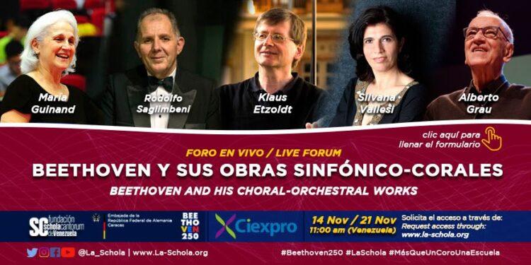 La obra sinfónico coral de L.V. Beethoven explicada por cinco grandes maestros