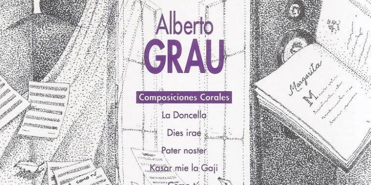 Álbum: Alberto Grau, Composiciones Corales