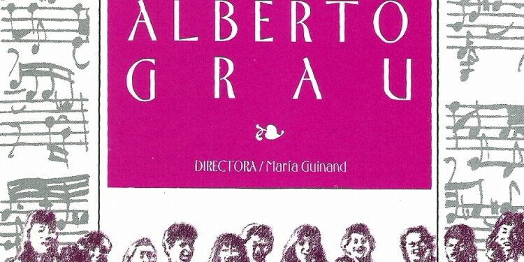 Álbum: Cantoría Alberto Grau