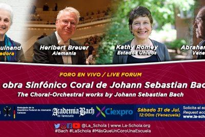 La Obra Sinfónico Coral de Johann Sebastian Bach
